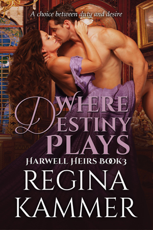 Where Destiny Plays (Harwell Heirs Book 3) cover