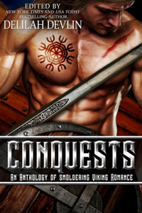 Conquests Viking romance cover
